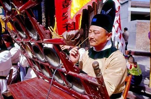 中国入选联合国教科文组织非物质文化遗产名录(名册)项目之西安鼓乐