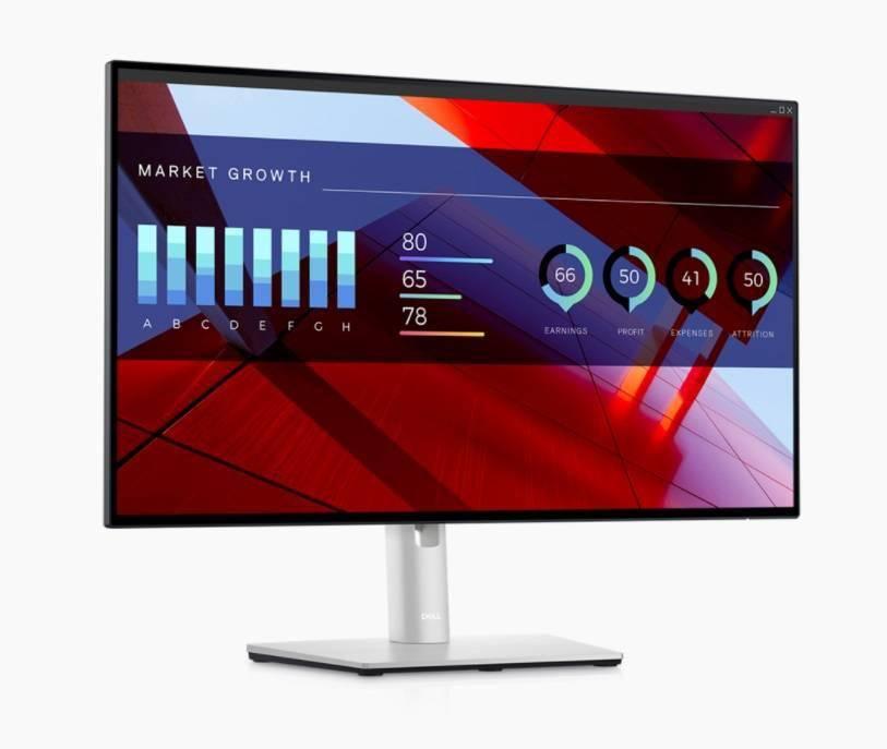 戴尔发布新款 U 系列显示器:四边窄边框高颜值