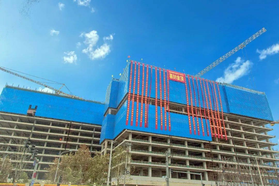 丰台又一公共商务综合体完成封顶!还有期待已久的大型购物中心进入开业倒计时!