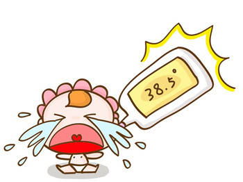 到了这个月龄,BB很容易发烧,家长要警惕!