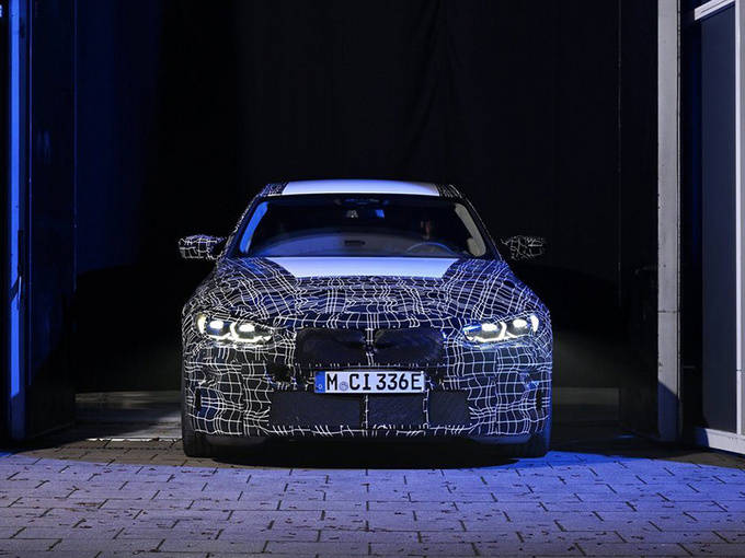 宝马i4性能版预览双电机四轮驱动/动力超级新M4