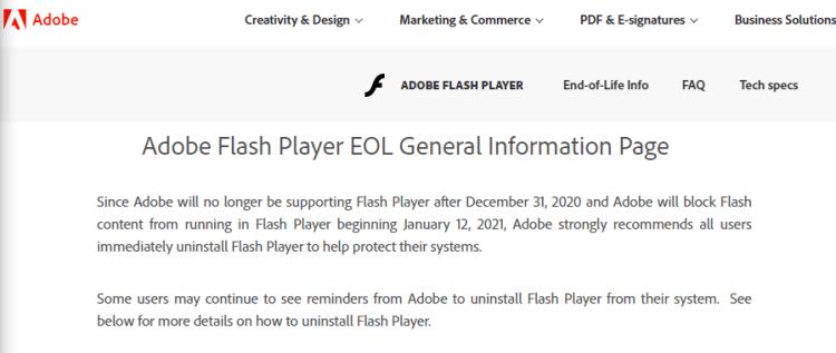 Flash终于走到生命的尽头,是时候说再见了