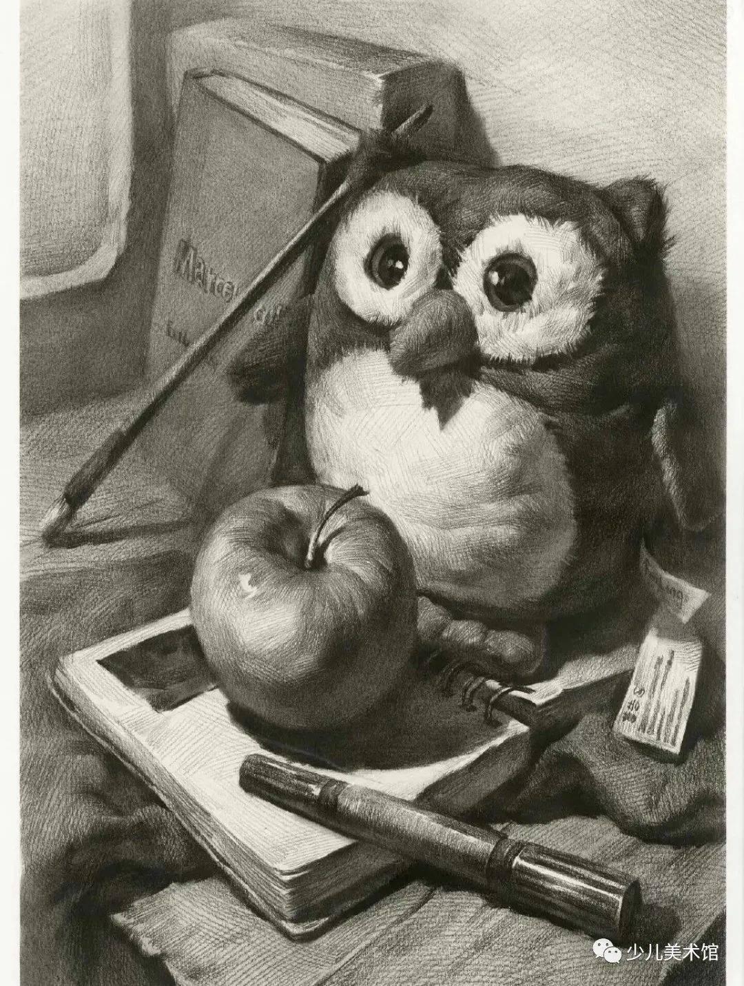 素描素材‖近百张大师素描作品+技法讲解,素描学习必备收藏!  第44张