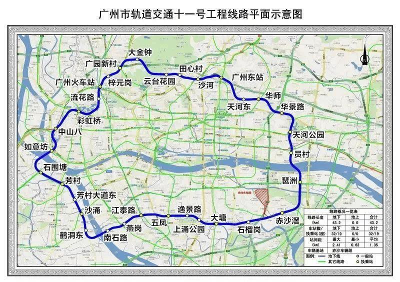 燃!广州今年3条地铁通车,这些盘躺赢