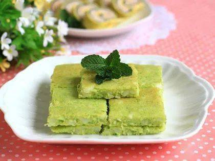 【健康食谱】西芹荸荠鸡蛋饼