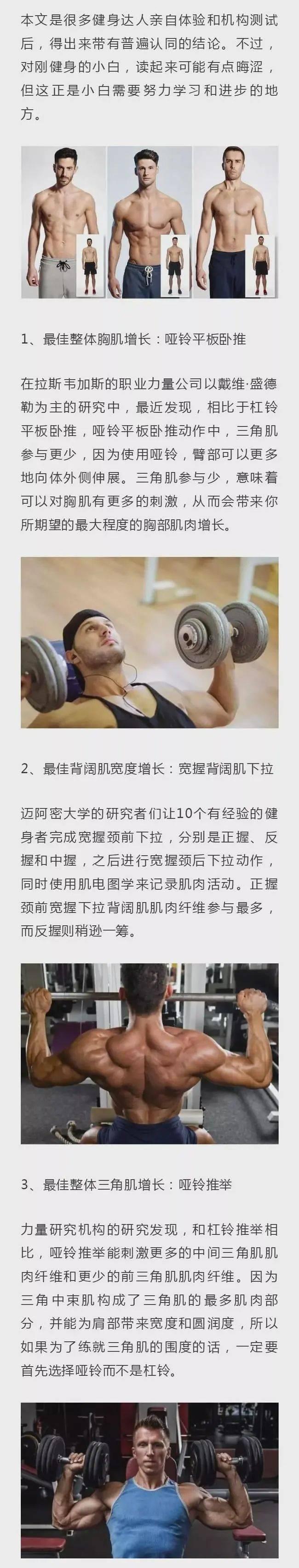 9个健身中的最佳动作,只有5%的人知道