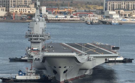 美媒:中国第3艘航母接近完成,第4艘航母开建