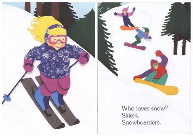 绘本故事:《I Am Snow》我是雪  第11张