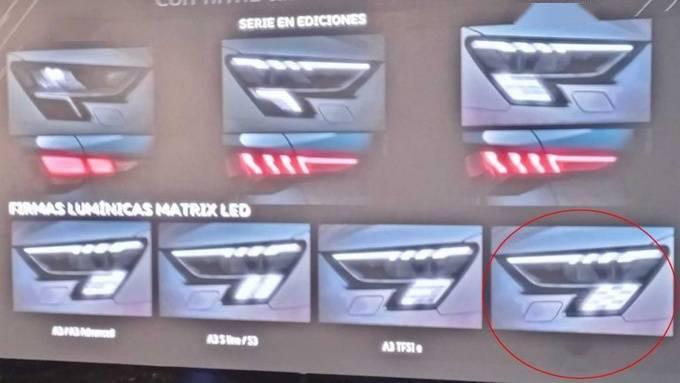 奥迪RS3最新谍照!将搭载2.5T引擎,零百加速或在4秒内