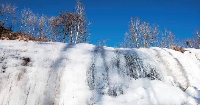 壮观!灵动!冬天专属!山西的冰瀑,绝美!  第5张