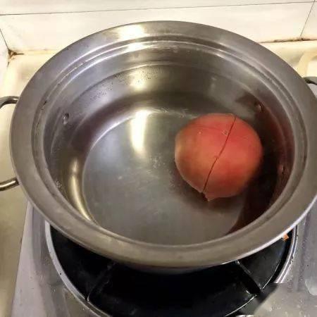 开胃的快手菜,番茄白菜烩肉丸,十分钟搞定