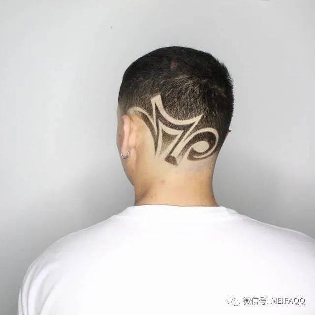 最火的雕刻发型,每一款都是艺术品
