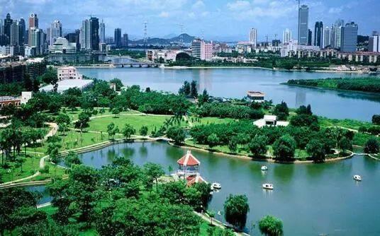 城市绿肺与文旅康养,这些地儿很惬意...