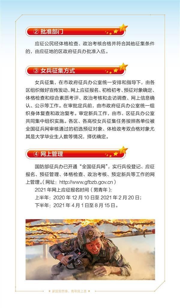 身高多少能当兵?大学生有啥优待政策?2021年上海征兵宣传手册里都有!