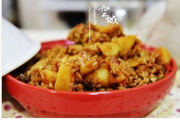 素菜谱|各种焖饭的做法