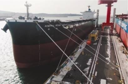 8.1万吨散货船在大连交付出口