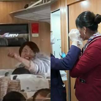 女子高铁拒戴口罩辱骂乘务员,乘客:得知其患产后抑郁愿理解