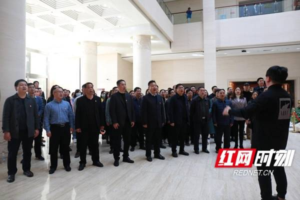 湖南物流职院举行党史学习教育启动仪式