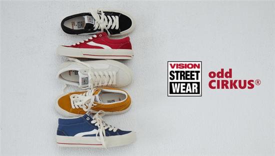Vision Street Wear经典复刻系列鞋款正式发售 —— #BACK TO STREET# 重温美式街头风
