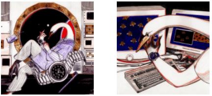 【奢生活】Gucci联合三位艺术家打造创意插画