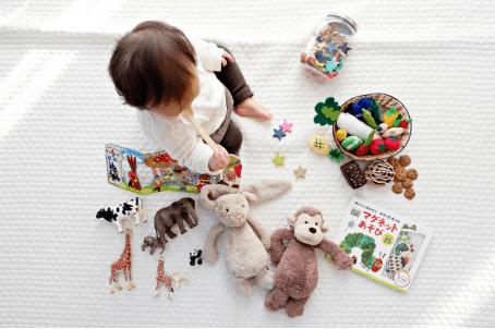 快乐六一,岩塚制果婴幼儿仙贝陪伴孩子的甜蜜时光