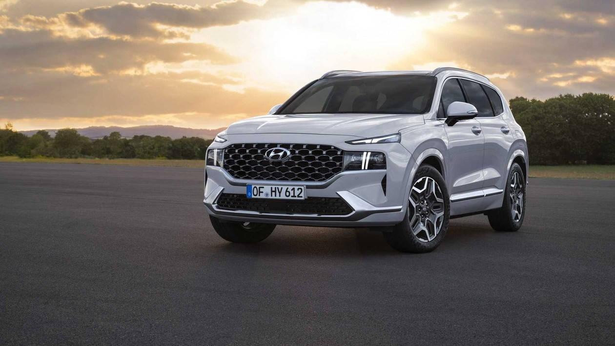 SSC设计-推混动车型 新款现代胜达详细信息公布