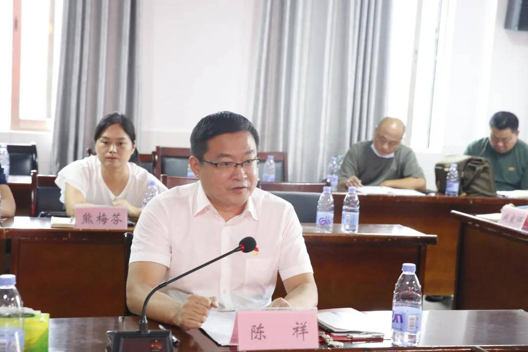 携手医共体,惠民心连心:鼎城区推进医共体建设工作座谈会