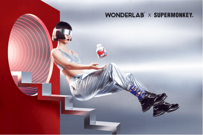 WonderLab这款新品,给健身加持奶茶快乐