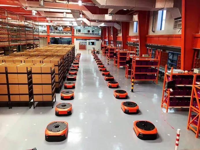 全球销售额累计增长近10倍,快仓联手欧洲第一工业