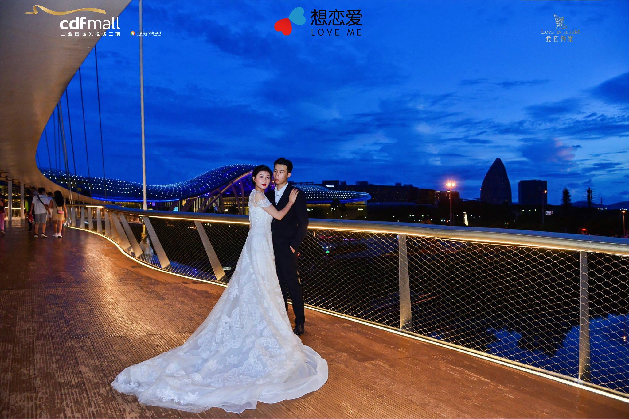 """云戒桥见证""""永恒之爱"""" 三亚国际免税城二期邀你为爱打卡"""