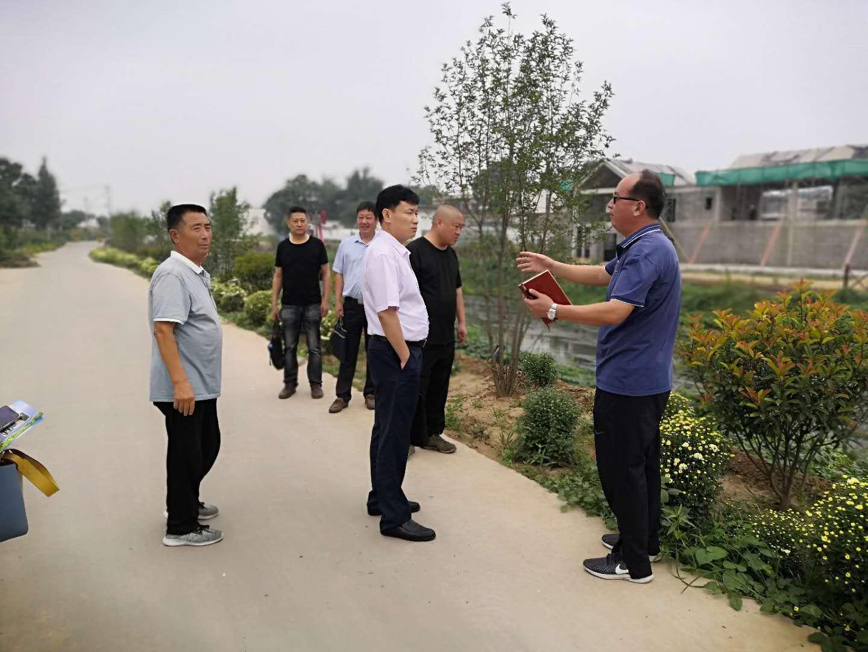 民盟安阳市委会赴安阳县白壁镇调研脱贫攻坚和乡村振兴工作