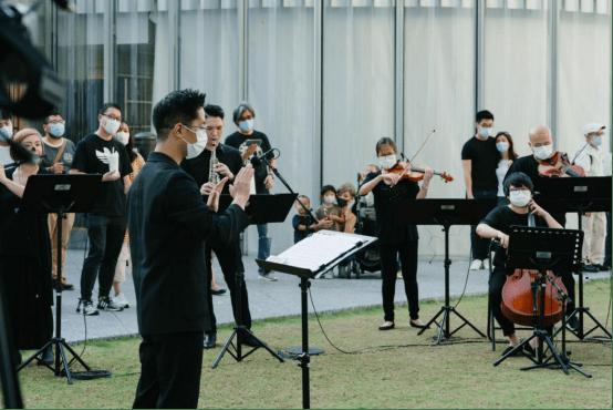 致敬极简主义,顶级管弦乐专场音乐会在香港K11 MUSEA奏响