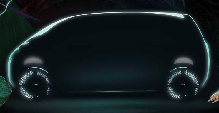 6号站-MINI Vision Urbanaut概念车预告图发布