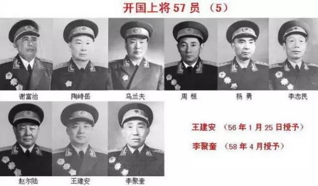 十大元帅十大将军排名(共和国十大元帅,十大将军,57位上将!) 网络快讯 第8张