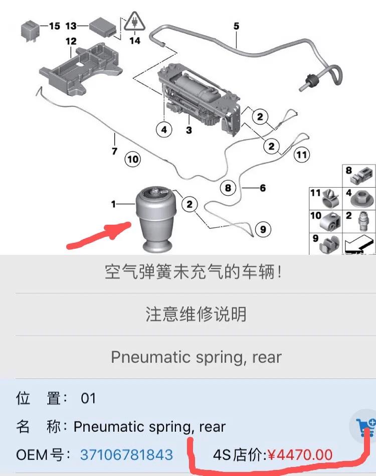 改一套空气悬挂多少钱(空气悬挂是干什么的)插图(2)
