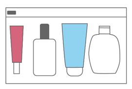 上飞机化妆品怎么带(飞机怎样携带液态物品)插图(3)