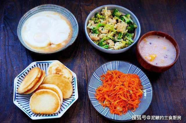 晒晒我家孩子的早餐,灵巧搭配,营养丰富,孩子吃饱吃好