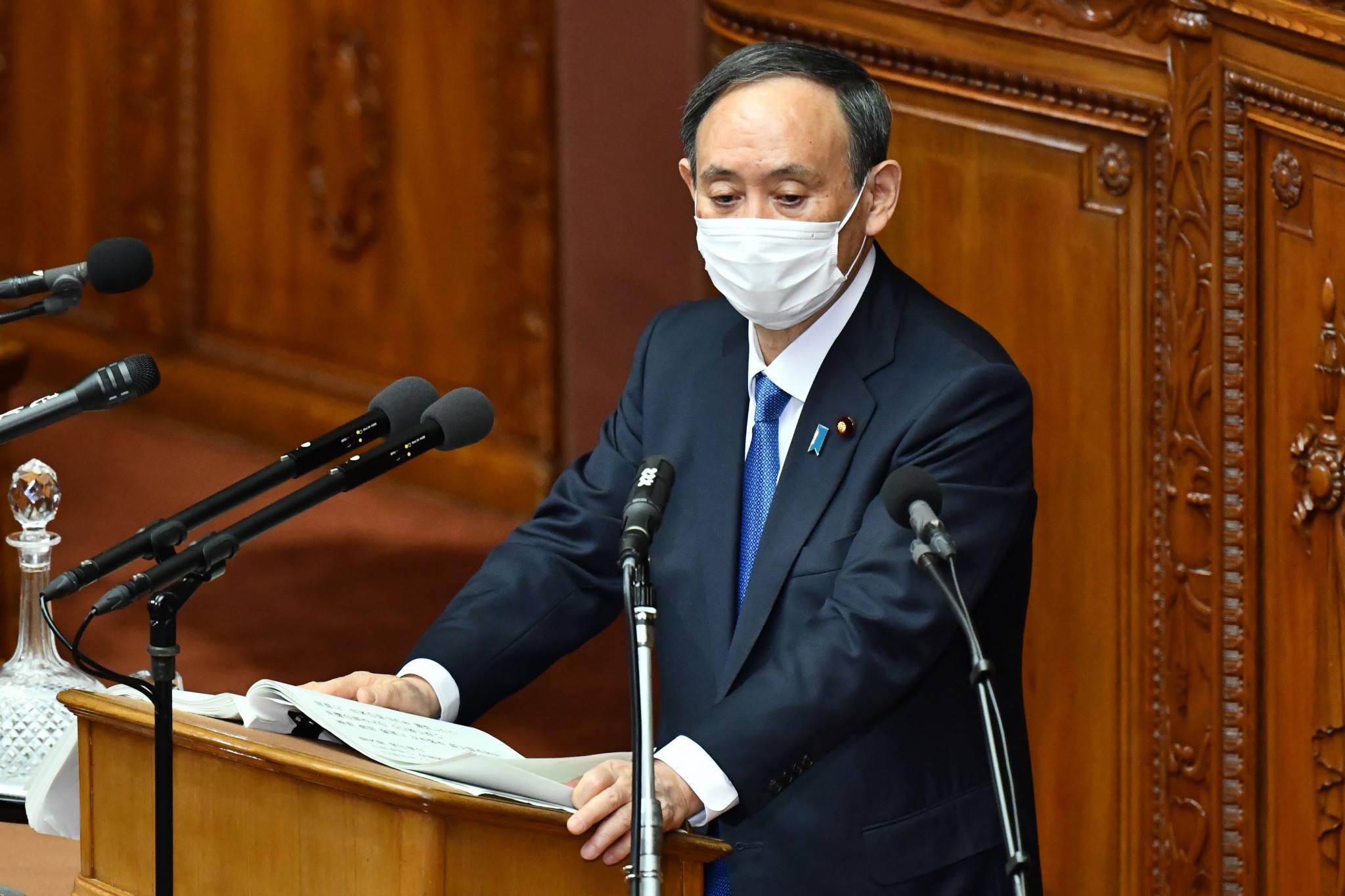 日本首相:发誓尽快控制新冠 力保东京奥运举行