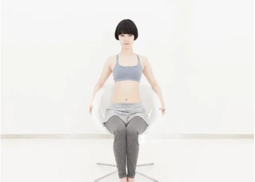 享乐瘦分享适合上班族日常做练习的瘦肚子运动