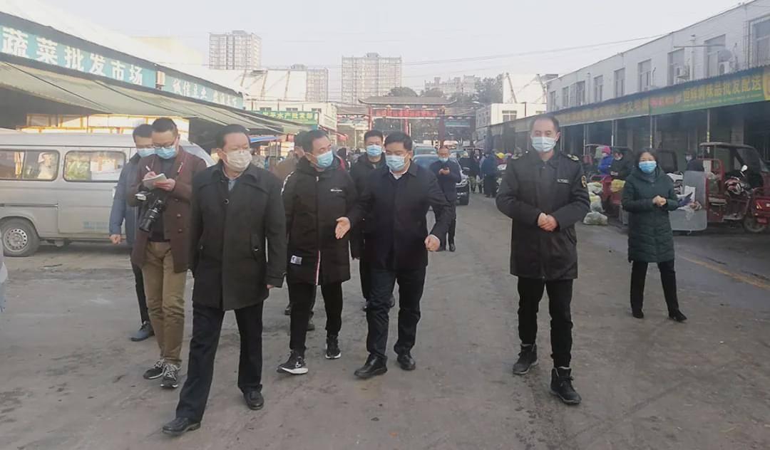 汉中市副市长邱世伟视察、调研进口冷链食品监管情况
