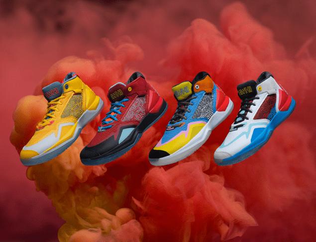 "New Balance发布4款全新配色""The Kawhi""签名篮球鞋"