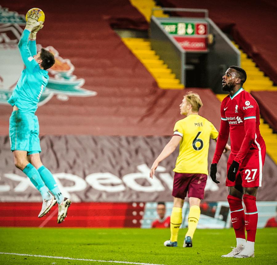 锋线再遭鬼打墙!在安菲尔德球场,利物浦完结27次射门