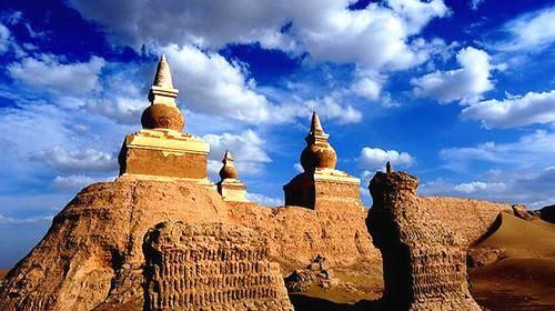 西夏黑水古城遗址:和敦煌藏经洞齐名,一经发现即遭沙俄抢掠!