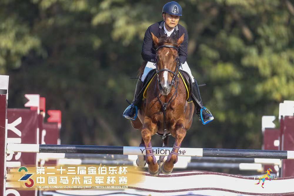奥运骑手李振强:惊讶和高兴有16对组合参加1.40米比赛 盼疫情结束