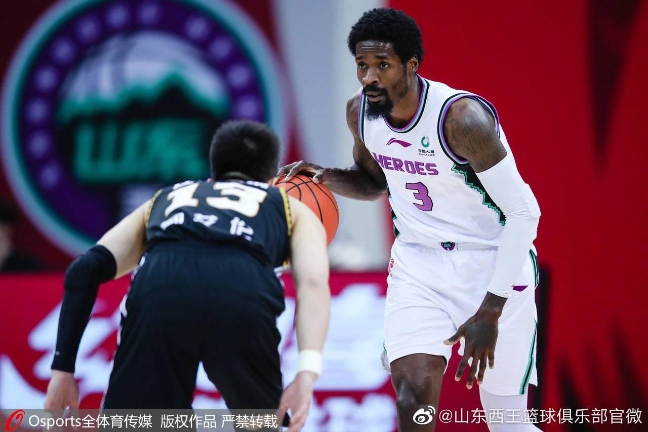 山东男篮官方宣告球队与哈里斯合同到期并不再续约