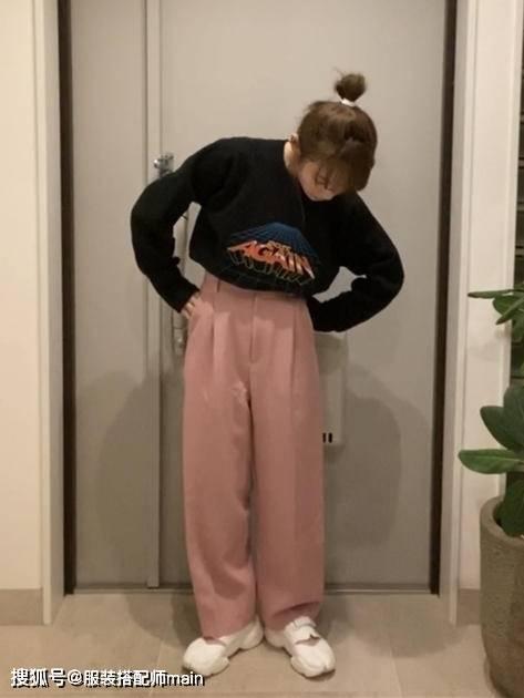 155cm小个子女生别错过休闲裤 照这4种方法选 显高显腿长-家庭网