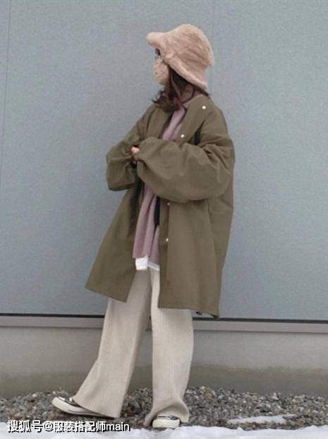 155cm小个子女生别错过休闲裤 照这4种方法选 显高显腿长 爸爸 第6张