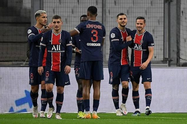 法甲-姆巴佩破门伊卡尔迪建功 巴黎2-0客胜马赛_迪马利亚