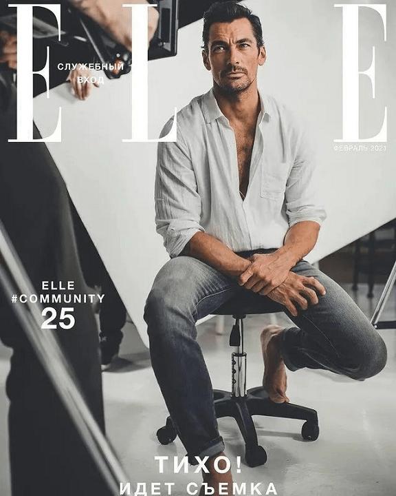 顶级男超模复出拍大片 41岁依然帅!靠满身肌肉改变男模界审美 爸爸 第3张