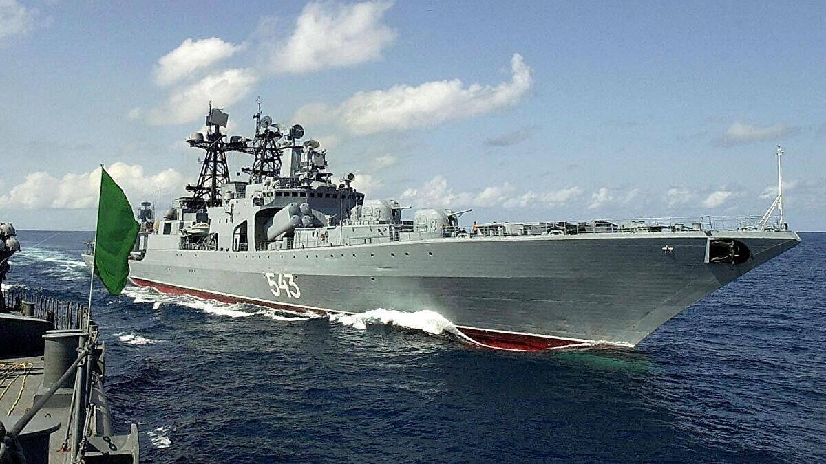 俄伊海上联合演习背后的战略考量?